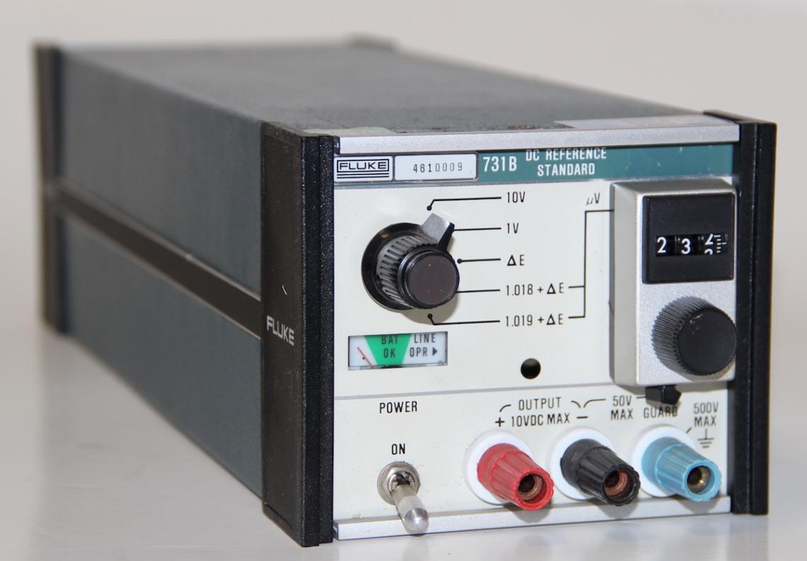 Fluke 731b Dc Reference Standard