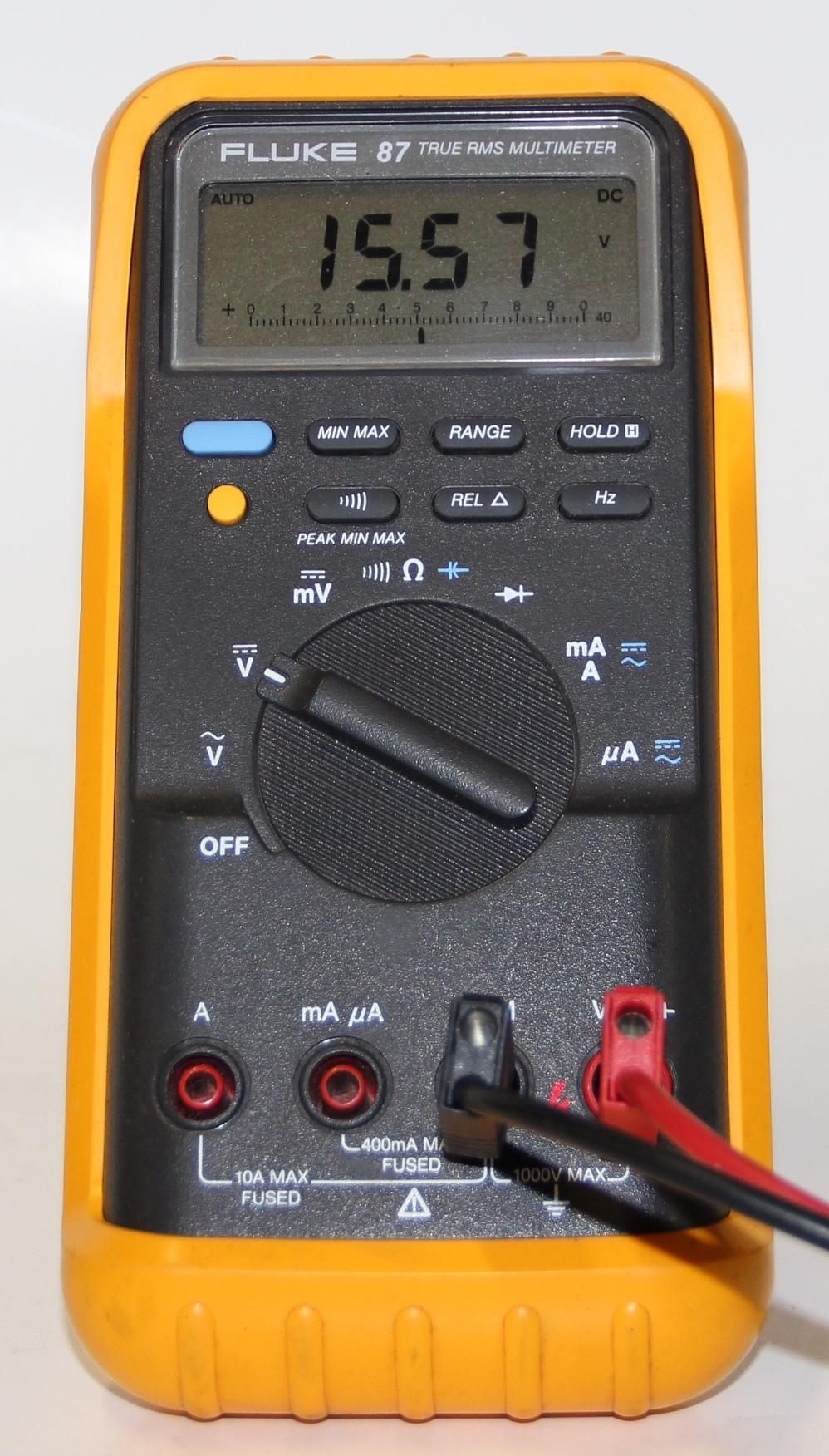 Fluke Multimeter 87 : Fluke true rms multimeter