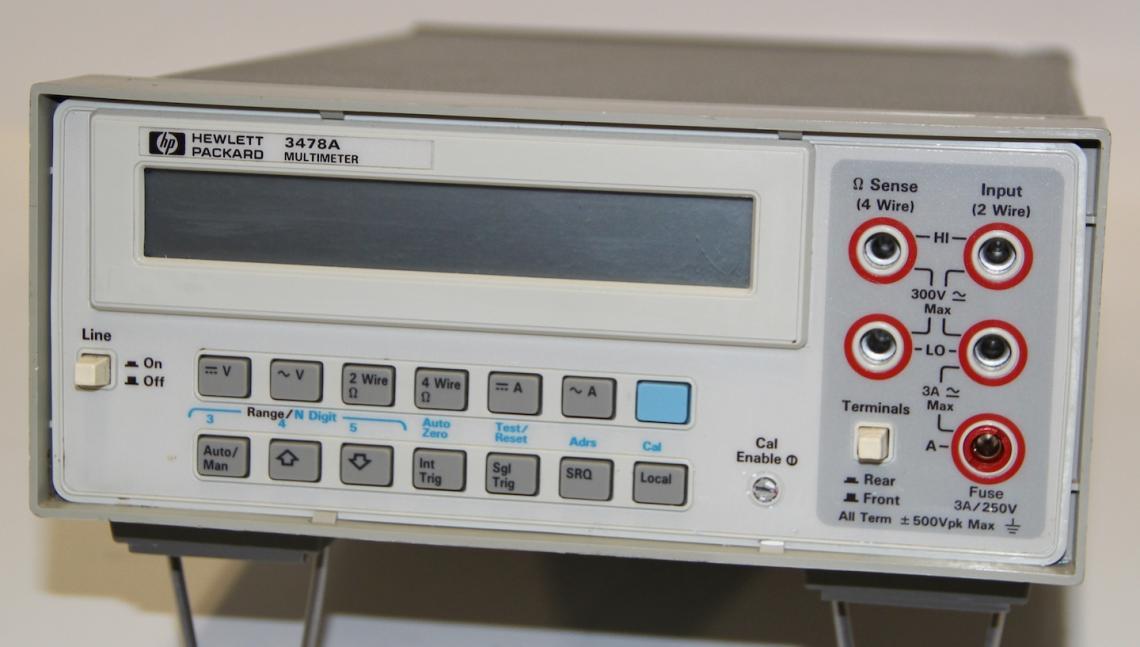 Agilent Hewlett Packard 3478A Digital Multimeter DMM 5.5 Digit Warranty